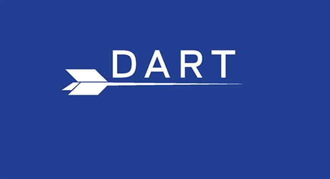 Use DART to ride DDOT, QLINE and SMART as a single fare